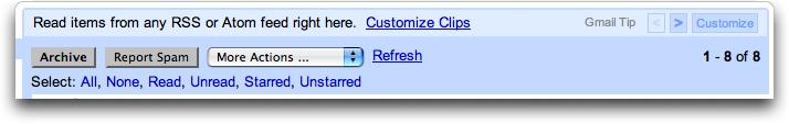 Gmail Web Clip